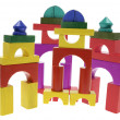 Wooden Building Blocks — Stock Photo #3214336