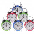 Alarm Clocks — Stock Photo #3214377