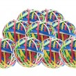 Rubber Bands Ball — Stock Photo #3214397