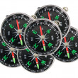 Stock Photo: Compasses