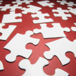 Jigsaw Puzzle Pieces — Stockfoto