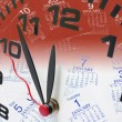 Clock and Calendar — Stockfoto