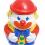 Сайкин игрушка клоун — Стоковое фото