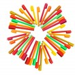 Colouring Pens — Stock Photo