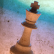 king chess piece — Stock Photo