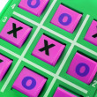 TicTac Toe Game — Stock Photo