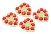 Heart-shaped Boxes of Chocolates — Stock Photo