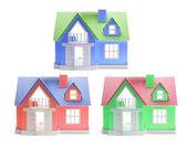 Casas de juguete — Foto de Stock
