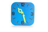 Horloge en carton — Photo