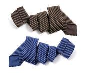 Pinstriped Neckties — Stock Photo