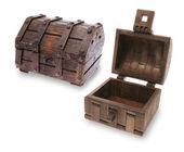 木宝箱 — 图库照片