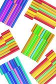 Długopisy barwienia — Zdjęcie stockowe