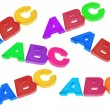 Stock Photo: ABC Alphabets
