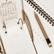 Stock Photo: Desk Calendar and Planner