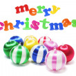Stock Photo: Merry Christmas Greetings