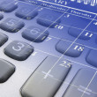 Calendar and Calculator Keys - Stock Photo