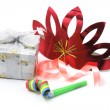 Gift Box with Party Favors — Foto de Stock