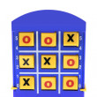 Stock Photo: Tic Tac Toe Game