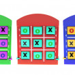 Stock Photo: TicTac Toe Games