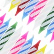 Row of Birthday Candles — Stockfoto #3265359