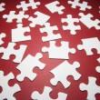 Stock Photo: Jigsaw Puzzle Pieces