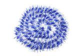 Blue Tinsel — Stock Photo