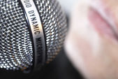 Microphone 01 — Stock Photo
