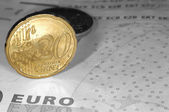 Euro 3 — Stock Photo