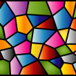 Stained Glass — Stock Vector