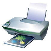 Printer — Stock Photo