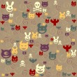 Royalty-Free Stock Vektorfiler: Halloween-set