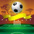 Royalty-Free Stock Vector Image: Soccer field