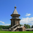 Stock Photo: Wooden belltower
