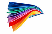 Colourful paper napkins. — Stock Photo