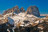 Sassolungo rocks, Dolomites, Italy. — Stock Photo