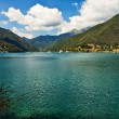 Lago di Ledro, Italy. — Stock Photo
