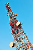 Telecommunication tower. — Foto de Stock