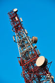 Telecommunication tower. — Stock fotografie