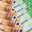 Euro banknotes. — Stock Photo