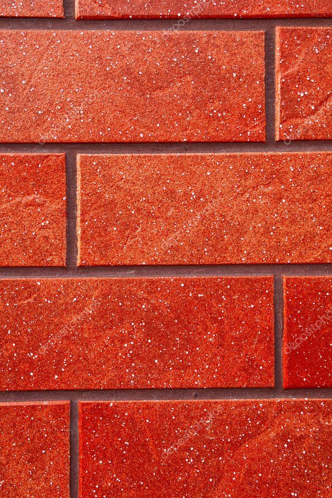 Dark Red Brick Tile Wall Stock Photo Bartekjaworski