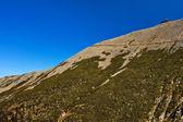 Uitzicht op de prachtige bergen schouder. — Stockfoto