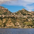 Taormina town at Sicily. — Stock Photo