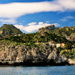 Small town at Sicily. - Stock Photo