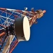 Telecommunication mast. — Stockfoto