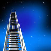 Ladder Up — Stock Photo