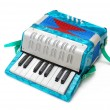 Accordion toy — Stock Photo