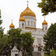 The Cathedral of Christ the Saviour — 图库照片