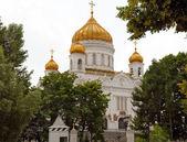 De kathedraal van christus de verlosser — Stockfoto