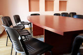 Office meeting desk — Stock Photo
