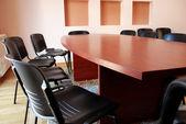 Vergadering bureau — Stockfoto